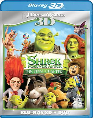 SHREK FOREVER AFTER 3D BY MYERS,MIKE (Blu-Ray)